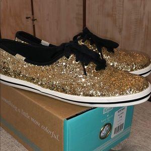 Keds x Kate Spade glitter sneakers size 7